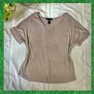 INC Lovely sequined top